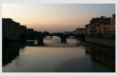 Arno River, Florence, Italy - Photograph by Barry McCullough